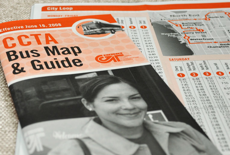 bus map & guide
