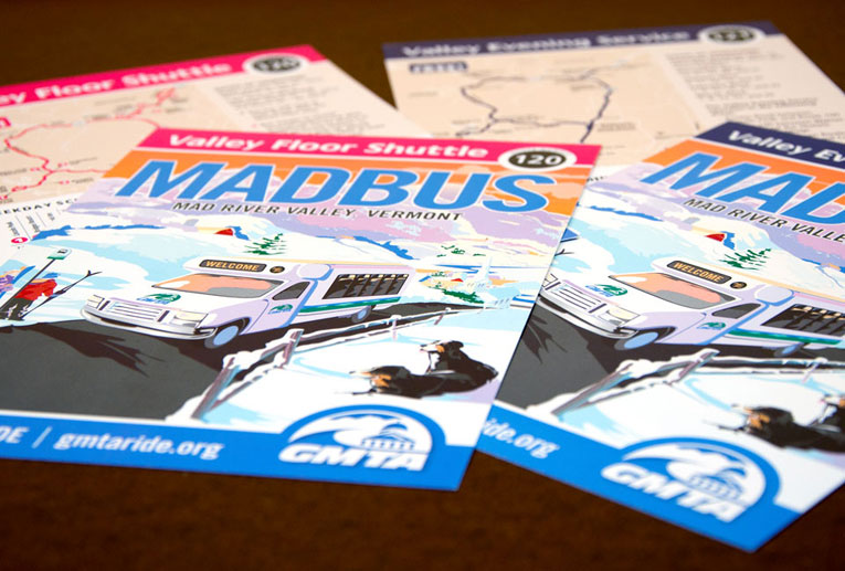 gmta mad bus route cards