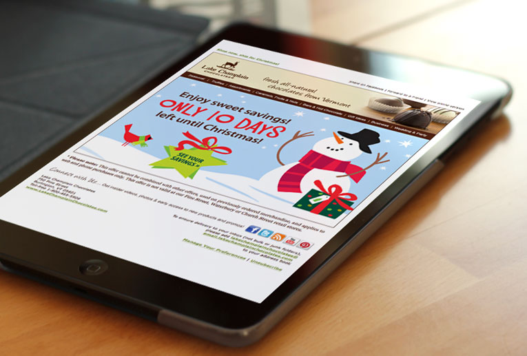 lcc holiday email marketing