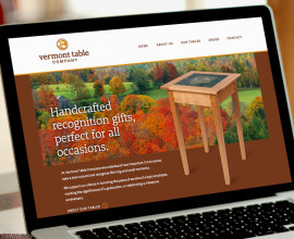 Vermont Table Company website
