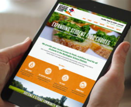 Burlington School Food Project website