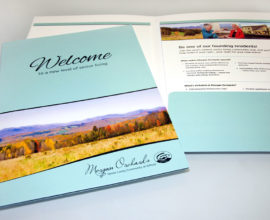 Morgan Orchards Marketing Folder
