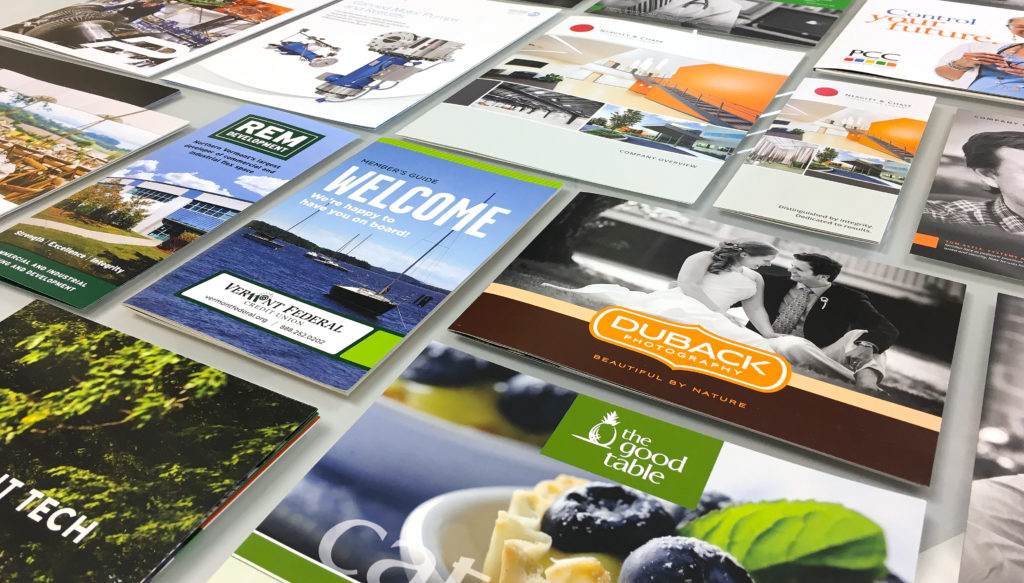 The importance of printed sales materials