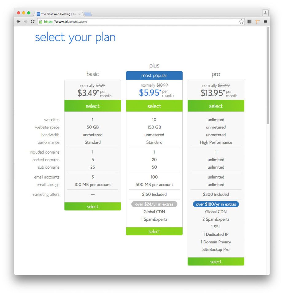 bluehost-select-your-plan