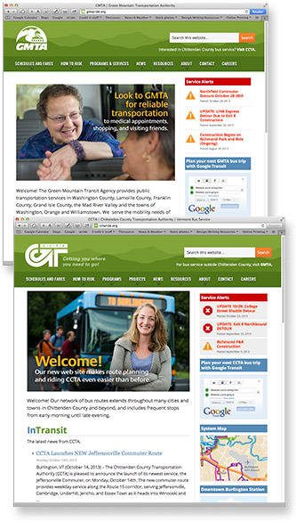 CCTA & GMTA web sites