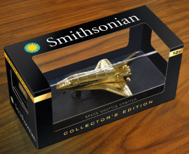 Wowtoyz Smithsonian Space Shuttle packaging