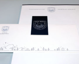 True North Wilderness Program stationery
