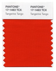Pantone 2012 Color of the Year: orange you glad it's Tangerine Tango?